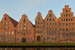 Salzspeicher LÃ ¼ potoczek, Niemcy Obrazy Royalty Free
