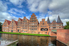 Salzspeicher. Lubeck Stock Photos