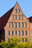 Salzspeicher, old salt storage warehouse in Lubeck, Germany Royalty Free Stock Photos