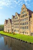 Salzspeicher (salt storehouses) of Lübeck Royalty Free Stock Photo