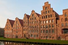 Salzspeicher van LÃ ¼ wenk, Duitsland Royalty-vrije Stock Afbeeldingen