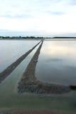 Salzwanne am Knall Taboon in Thailand Lizenzfreies Stockbild