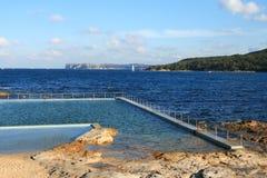 Salzwasser-Pool stockfotos