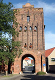 Salzwedel city gate Royalty Free Stock Image