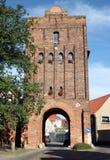 Salzwedel-Stadttor lizenzfreies stockbild