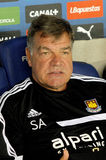 Sam Allardyce coach of West Ham Stock Images