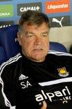 Sam Allardyce coach of West Ham Stock Images