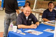 Sam Bass Signing Autographs stock foto