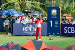 Sam Brazel in Thailand Golf Championship 2015 Stock Photo