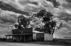 Sam 2 Bulls Gallery, Ghost Town, Scenic, South Dakota Stock Photography