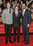 Sam Claflin & Josh Hutcherson & Jeffrey Wright Royalty Free Stock Photography