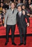 Sam Claflin & Josh Hutcherson Stock Photography
