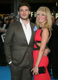 Sam Claflin,Laura Haddock Royalty Free Stock Photos