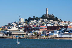 Sam Francisco Skyline Royalty Free Stock Images
