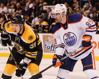 Sam Gagner Edmonton Oilers Royalty Free Stock Image