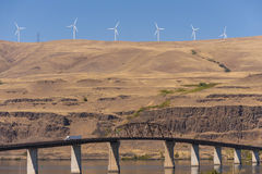Sam Hill Memorial Bridge Arkivfoto