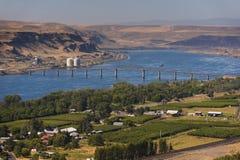 The Sam Hill Memorial Bridge Stock Images