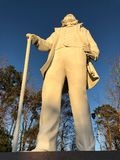 Sam Houston statue in Huntsville, Texas Stock Photo