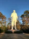Sam Houston staty i Huntsville, Texas royaltyfri fotografi