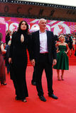 Sam Klebanov bei XXXVI internationalem Film-Festival Moskaus Lizenzfreie Stockfotos