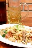 Sam krop in thaifood Menü Lizenzfreies Stockfoto