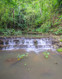 Sam Lan Waterfall in green forest Royalty Free Stock Images