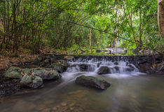 Sam Lan Waterfall Thailand Royaltyfri Foto