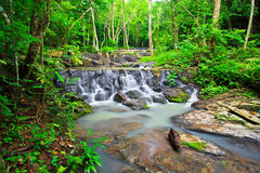 Sam Lan waterfall in Thailand Royalty Free Stock Photography