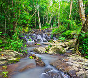 Sam Lan waterfall in Thailand Royalty Free Stock Images