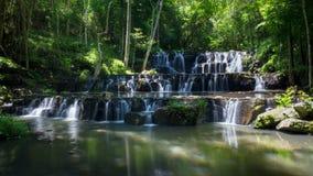 Sam Lan waterfalls Stock Image