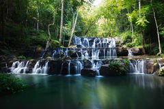 Sam Lan waterfalls. Khao Sam Lan National Park, Saraburi province Thailand Royalty Free Stock Images