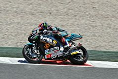 Sam lowes in the circuit of Catalonia Stock Image