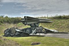 SAM missile, Hawk Royalty Free Stock Images
