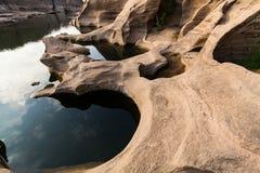 Sam Pan Bok Canyon Imagem de Stock