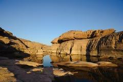 Sam Pan Boke en liten kanjon Royaltyfri Bild