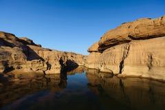 Sam Pan Boke en liten kanjon Royaltyfria Foton