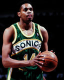 Sam Perkins, Seattle Sonics Photos libres de droits