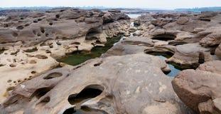 Sam Phan Bok Canyon en Thaïlande photos libres de droits