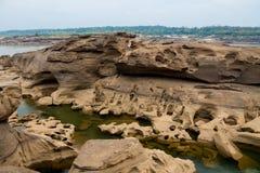 Sam Phan Bok Canyon en Thaïlande photo libre de droits