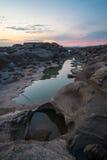 Sam Phan Bok Canyon Grand Canyon av Thailand Royaltyfri Bild