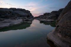 Sam Phan Bok Canyon Grand Canyon av Thailand Arkivbilder