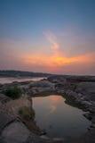 Sam Phan Bok Canyon, Grand Canyon de Tailandia fotos de archivo