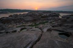 Sam Phan Bok Canyon, The Grand Canyon of Thailand Stock Photo