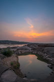 Sam Phan Bok Canyon, Grand Canyon van Thailand Stock Foto's
