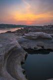 Sam Phan Bok Canyon, Grand Canyon van Thailand Royalty-vrije Stock Foto's