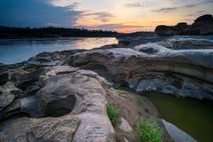 Sam Phan Bok Canyon, Grand Canyon van Thailand Stock Afbeeldingen
