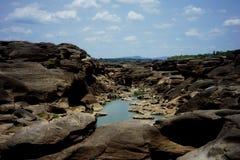 Sam Phan Bok Grand Canyon de la Thaïlande photo stock