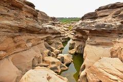 Sam Phan Bok (Grand Canyon de Tailândia) Imagem de Stock Royalty Free