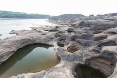 Sam Phan Bok - The Grand Canyon of Thailand Royalty Free Stock Photography