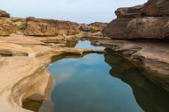 Sam Phan Bok - The Grand Canyon of Thailand Stock Photos